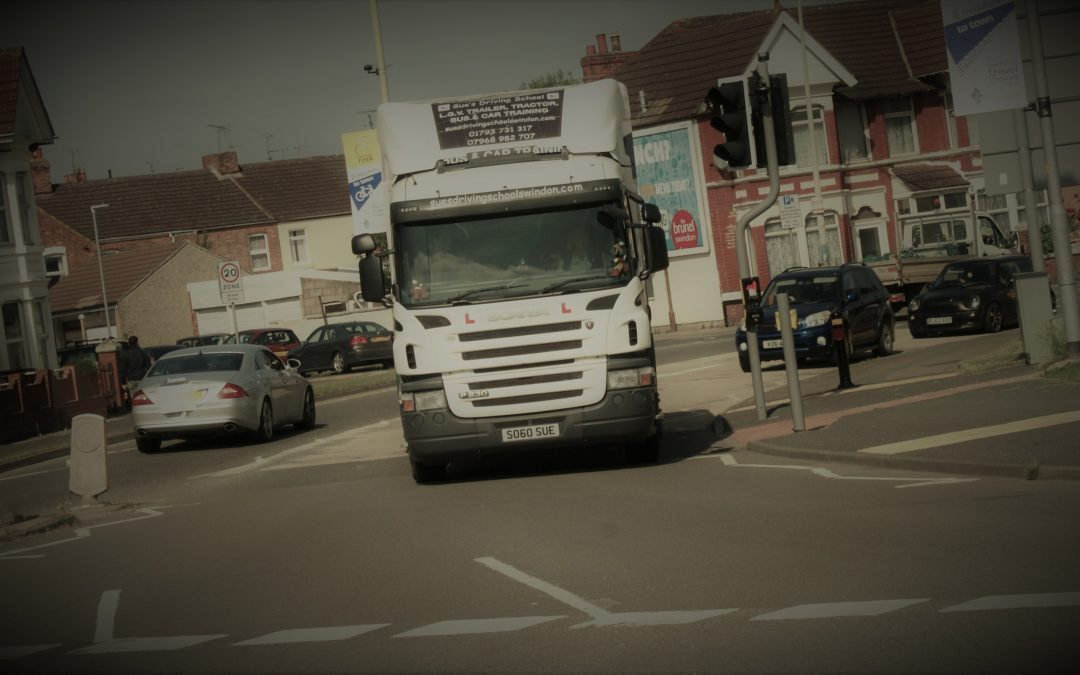 Scania near Magic roundabout